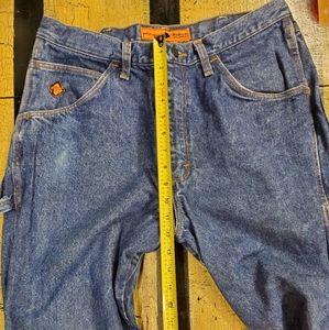 🤴👖 Wrangler heavyweight Riggs workwear 34 x 32